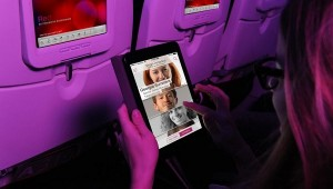 Virgin America In-Flight Social Network