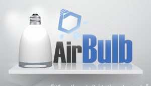 AirBulb Smart LED Bulb with Wireless Speaker
