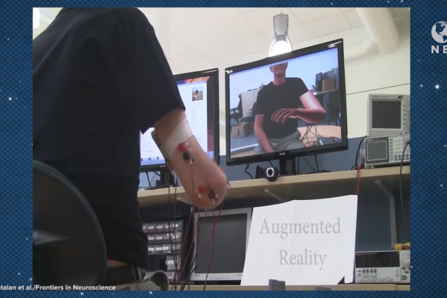 Augmented reality limbs