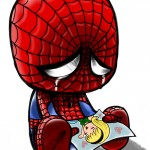 Crying Spider-Man