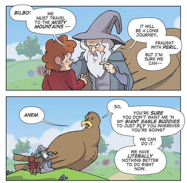 Gandalf & Eagles