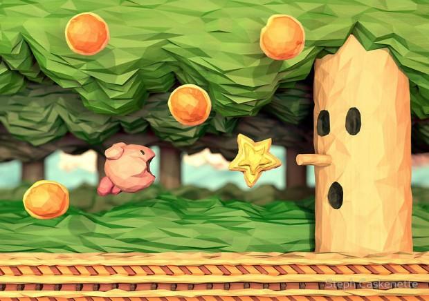 Kirby Papercraft