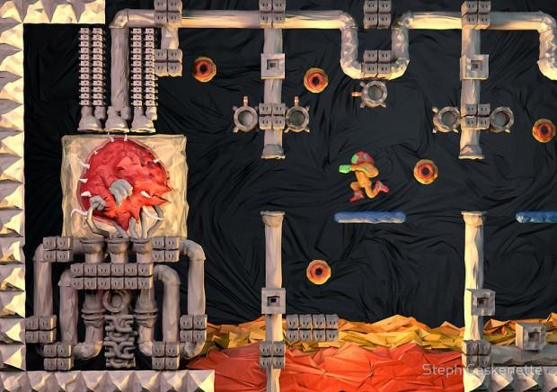 Metroid Papercraft