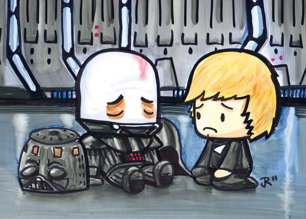 Vader & Luke