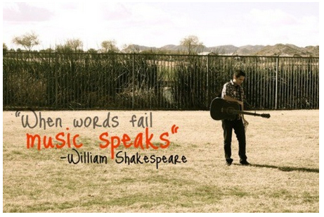 When words fail music speaks