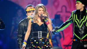 fergie-lego-dress-getty