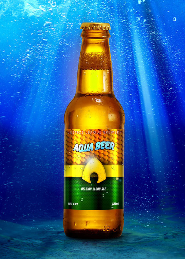 Aquaman beer