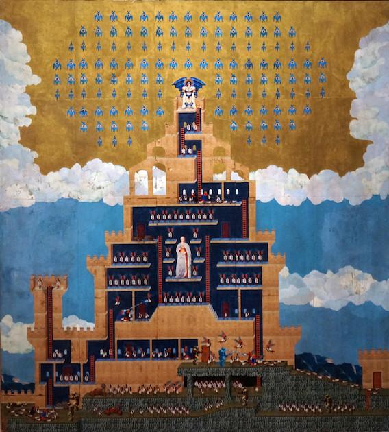 Dan Hernandez Space Invaders Fresco image