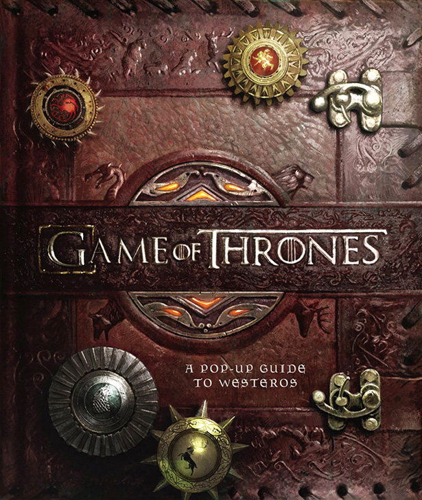 Game of Thrones pop up book 1