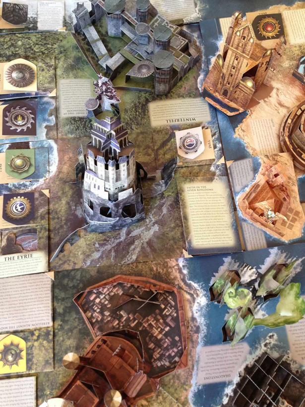 Game of Thrones pop up book 2