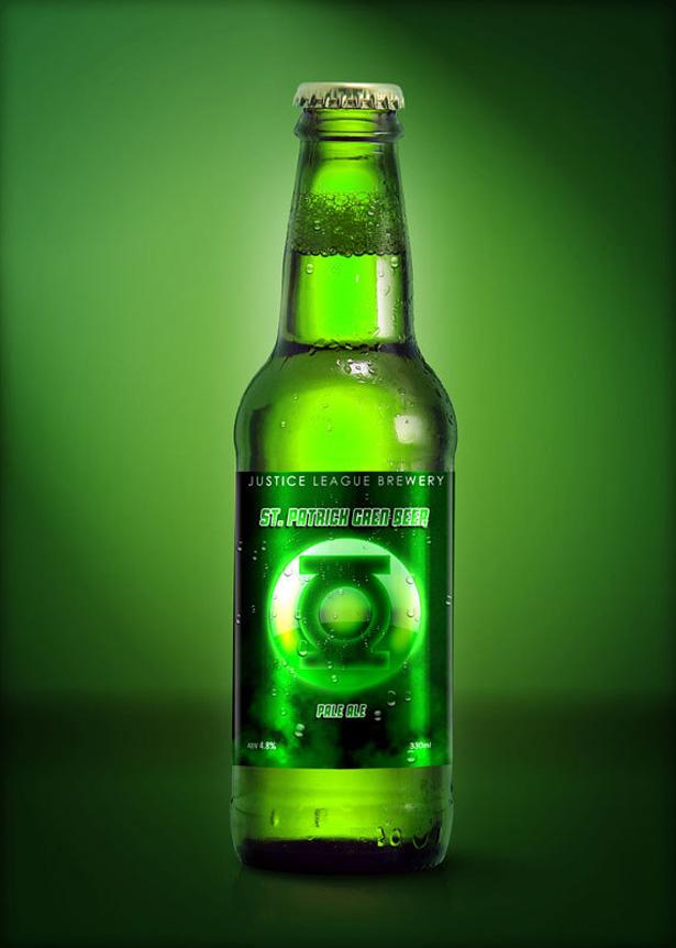 Green lantern beer
