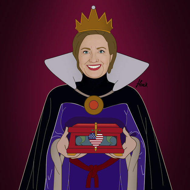 Hillary Clinton Snow White