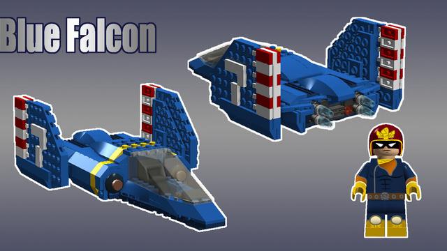 Lego F-Zero