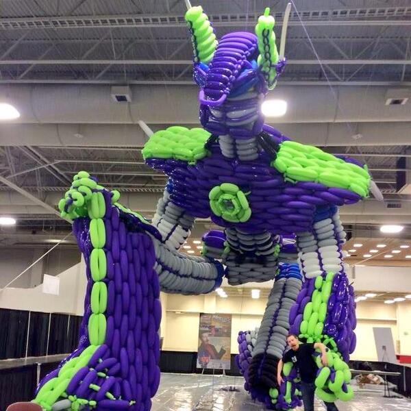 Optimus Prime Balloon Sculpture