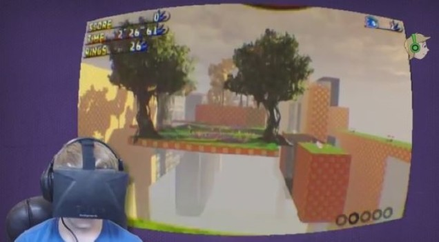 Sonic Oculus Rift image