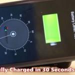 StoreDot NanoDot-based Smartphone Battery
