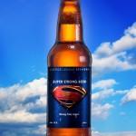 Superman beer