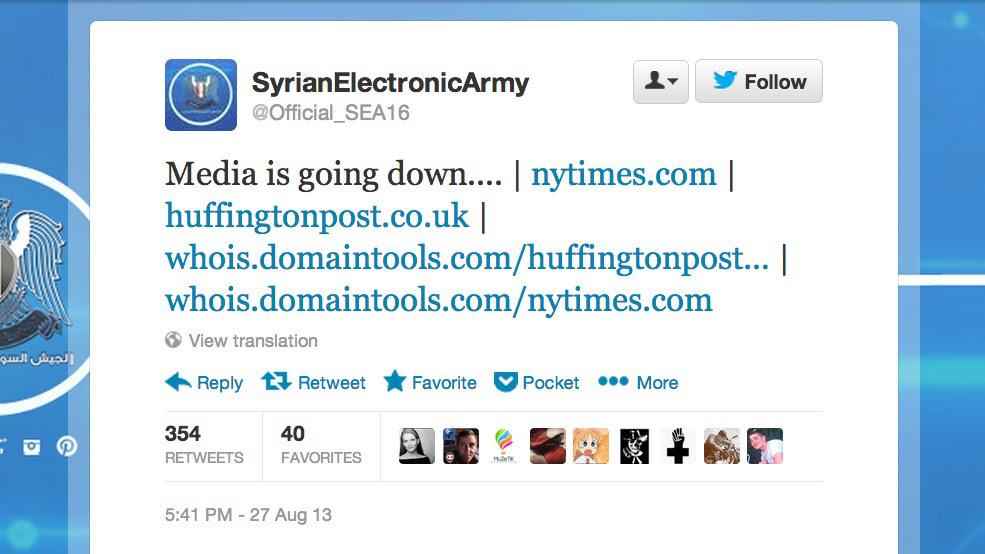 Syrian Army Hack