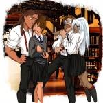 Tarzan, Jane, Milo, and Kida