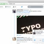 Twitter Pop-up Notifications