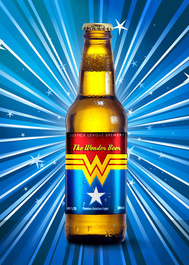 Wonder woman beer
