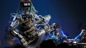 Robot Band Z-Machines Debut Live