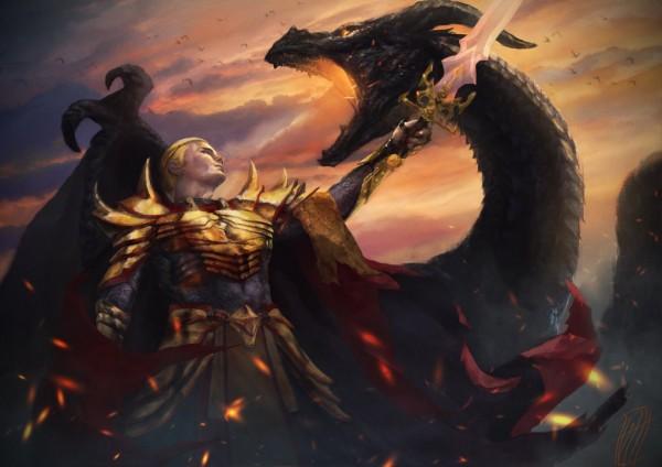 Aegon and Balerion