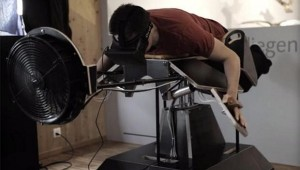 Birdly VR Full-Body Flight Simulator - Oculus Rift