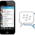 BlackBerry Messenger screenshot