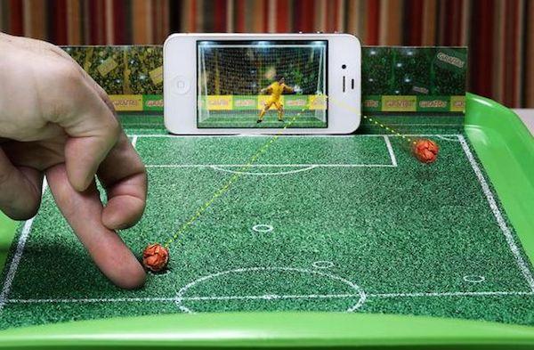 Giraffas football penalty shoot out image