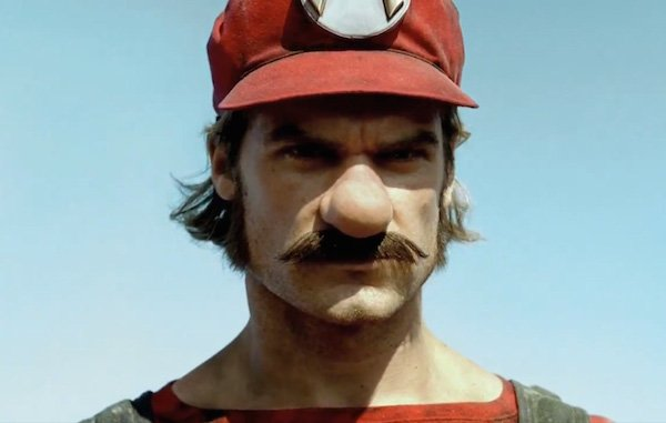 Mercedes Mario commerical image