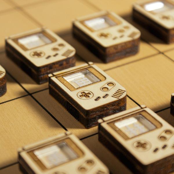 Nintendo Game Boy Themed Shogi Board by den image 2