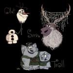Olaf, Sven & Trolls