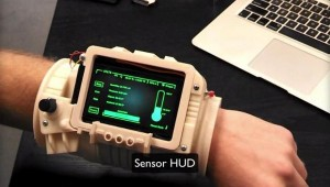 Pip-3000 HUD Display for Astronauts