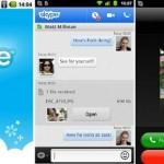 Skype Android screenshot