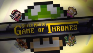 Super Mario Game of Thrones image