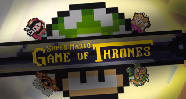 Super Mario Game of Thrones image