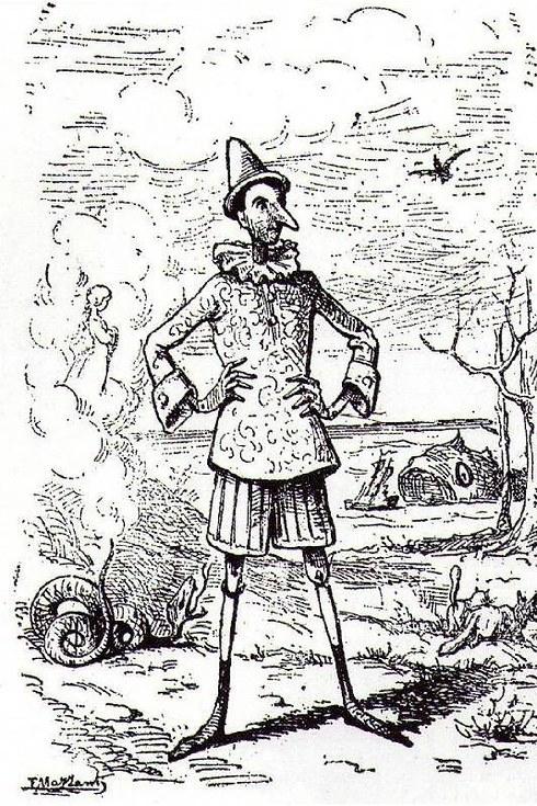 Tall Pinocchio