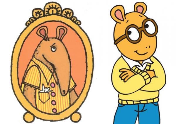 Weird lookin' Arthur
