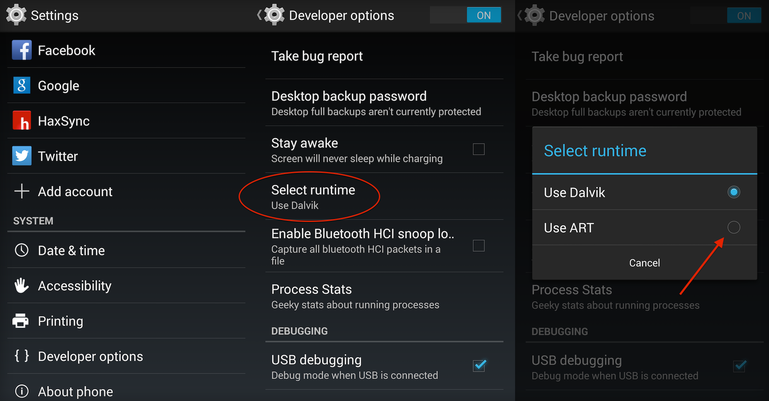 Android L performance boost