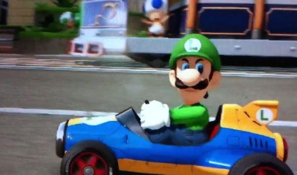 Mario Kart 8 Death Stare Luigi image