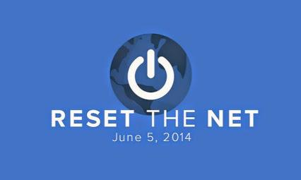 Reset the internet