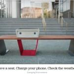 Soofa Solar-Powered Smart Park Bench 02