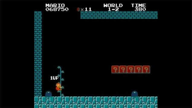 Super Mario Bros Glitch