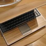 Wood laptop