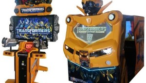 New Transformers Arcade Game Sega image 1