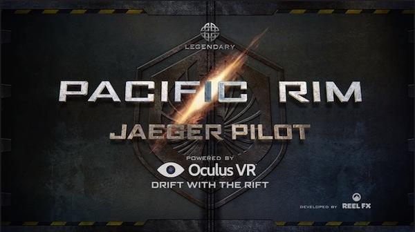 Pacific Rim Jaeger Pilot Oculus Rift image