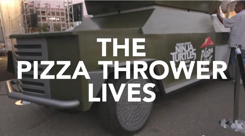 Pizza Launcher comic-con 2014