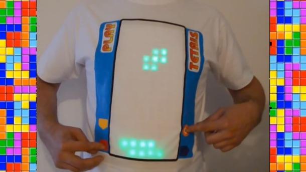 Tetris shirt Marc Kerger image