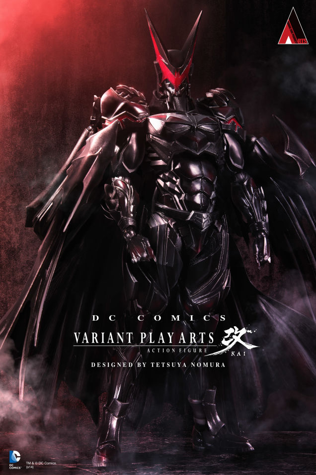 Tetsuya Nomura DC Comics Variant Play Arts Batman figure image 2